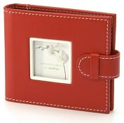 Product Image. Title: Piping Sport Red Mini Photo Album