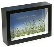 Product Image. Title: Chroma Black 4x6 Picture Frame