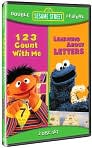 Video/DVD. Title: Sesame Street: 123 Count with Me/Learning about Letters