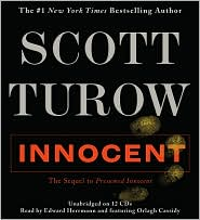 Innocent by Scott Turow: CD Audiobook Cover