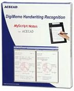 Product Image. Title: Solidtek Acecad Handwriting Recognition Software