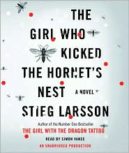 The Girl Who Kicked the Hornet's Nest (Millennium Trilogy Series #3) by Stieg Larsson: CD Audiobook Cover