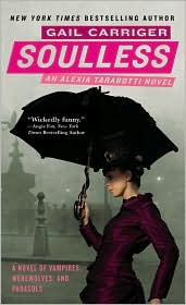 Soulless (Parasol Protectorate Series) by Gail Carriger: Book  Cover