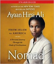 Nomad by Ayaan Hirsi Ali: CD Audiobook Cover