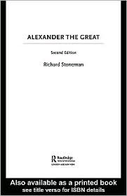 Stoneman, Richard - Alexander the Great