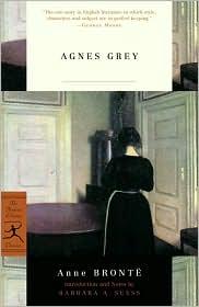 Barbara A. Suess  Anne Bronte - Agnes Grey