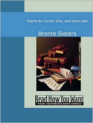 Bronte, Charlotte - Poems By Currer Ellis And Acton Bell