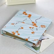 Product Image. Title: 4x6 Photo Binder, Mandarin