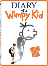 Diary of a Wimpy Kid starring Zachary Gordon: DVD Cover