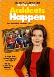 Accidents Happen starring Geena Davis: DVD Cover