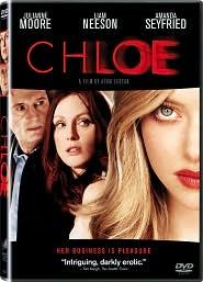 Chloe starring Liam Neeson: DVD Cover