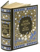 Book Cover Image. Title: Jane Austen:  Seven Novels (Barnes & Noble Leatherbound Classics), Author: Jane Austen