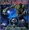CD Cover Image. Title: The Final Frontier, Artist: Iron Maiden,�Iron Maiden,�Bruce Dickinson,�Bruce Dickinson,�Adrian Smith,�Adrian Smith,�Janick Gers,�Janick Gers,�Steve Harris,�Steve Harris,�Steve Harris,�Steve Harris,�Bob Ludwig,�Nicko McBrain,�Kevin Shirley,�Rob Wallis,�Dave Murray,�Dave Murray,�Jared Kvitka,�Stuart Crouch,�Melvyn Grant,�Melvyn Grant,�Anthony Dry,�Andrew Yap