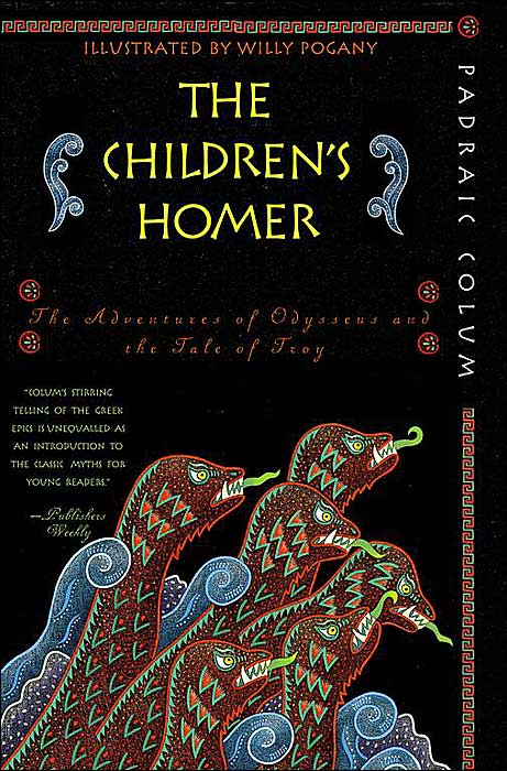 Children's Homer: The Adventures of Odysseus and the Tale of Troy book cover