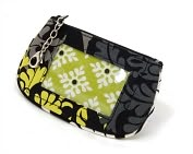 Product Image. Title: Vera Bradley Baroque Clip Zip ID Case (5.5x3.25)