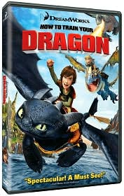 How to Train Your Dragon starring Jay Baruchel: DVD Cover