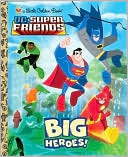 Big Heroes! (DC Super Friends) by Billy Wrecks: Book Cover