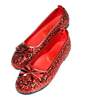 Rubies Costumes Wizard of Oz Ruby Slippers - Red