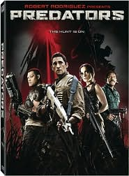 Predators starring Adrien Brody: DVD Cover