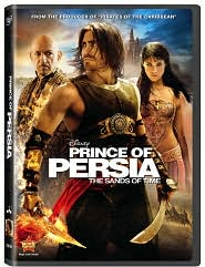 Prince of Persia: The Sands of Time starring Jake Gyllenhaal: DVD Cover