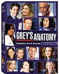 Video/DVD. Title: Grey's Anatomy: The Complete Sixth Season