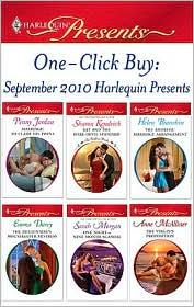 Emma Darcy, Helen Bianchin, Penny Jordan, Sarah Morgan, Sharon Kendrick  Anne McAllister - One-Click Buy: September 2010 Harlequin Presents