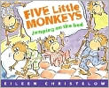 Book Cover Image. Title: Five Little Monkeys Jumping on the Bed, Author: by Eileen Christelow