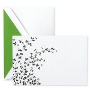 Product Image. Title: Garden Bough Imprintable Invitations