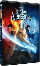 The Last Airbender starring Noah Ringer: DVD Cover