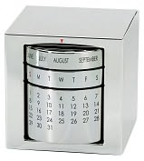 Product Image. Title: Silver Perpetual Calendar