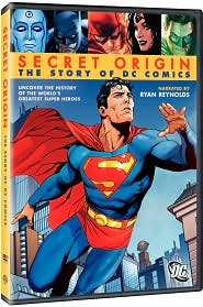 Secret Origin: The Story of DC Comics starring Ryan Reynolds: DVD Cover