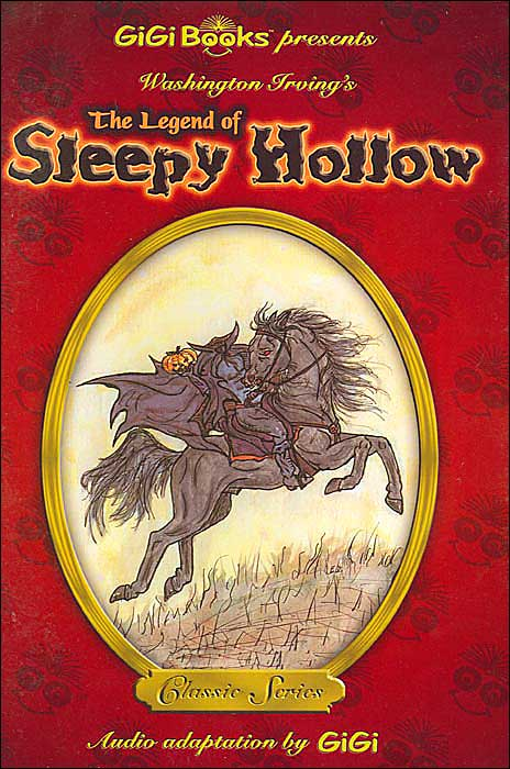 Washington Irving's: The Legend of Sleepy Hollow book cover