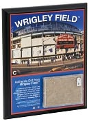 Product Image. Title: 2010 Wrigley Field 8x10 Plaque with Game Used Dirt
