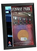 Product Image. Title: Fenway Park 4x6 Plaque with Game Used Dirt