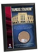 Product Image. Title: Yankee Stadium 4x6 Plaque with Game Used Dirt