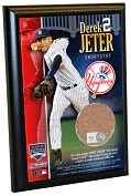 Product Image. Title: Derek Jeter, NY Yankees - 4x6 Plaque with Game Used Dirt