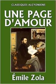 Émile Zola - Une Page d'amour