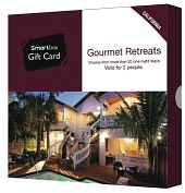 Product Image. Title: Gourmet Retreats Gift Card - California Edition