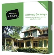 Product Image. Title: Charming Getaways Gift Card - Northeast Edition