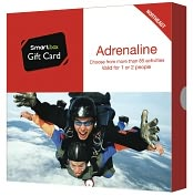 Product Image. Title: Adrenaline Gift Card - Northeast Edition