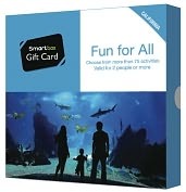 Product Image. Title: Fun For All Gift Card - California Edition