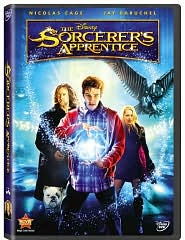 The Sorcerer's Apprentice starring Nicolas Cage: DVD Cover