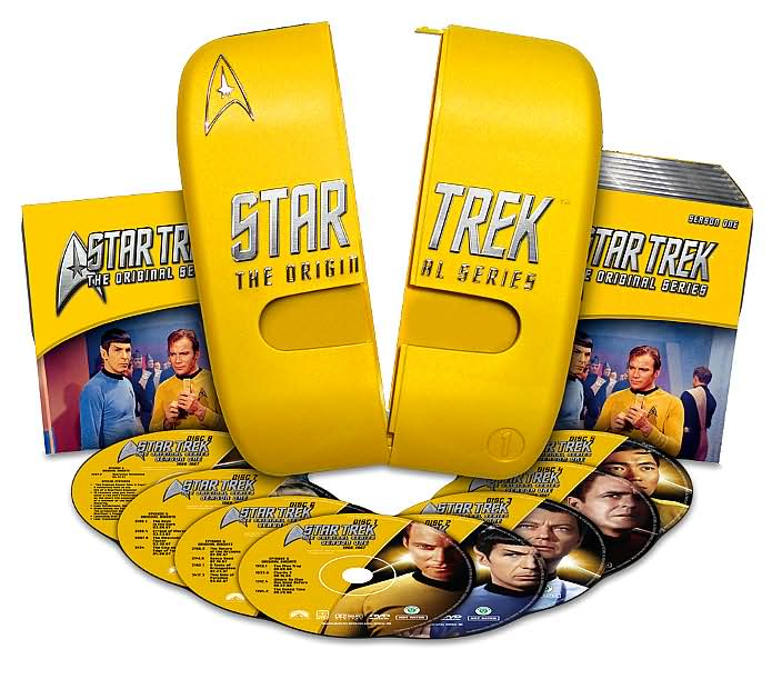 STARTREK ORIGINAL SERIES 8 DVDs σε κασετίνα