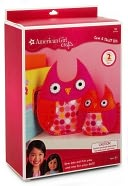 American Girl Owls Sew Stuff Kit: Product Image