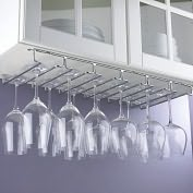 Product Image. Title: Large Under Cabinet Stemware Rack