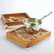 Product Image. Title: Wine Cork Trivet Kit