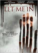 Let Me In starring Chloë Grace Moretz: DVD Cover