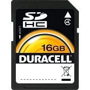 Product Image. Title: Duracell DU-SD-16GB-R 16 GB Secure Digital (SD) Card - 1 Card