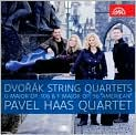 "CD Cover Image. Title: Dvor�k: String Quartets, Opp. 106 & 96 ""American"", Artist: Pavel Haas Quartet"