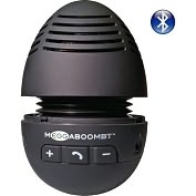 Product Image. Title: Meggaboom MEGGABOOM BT 2.1 Speaker System - 3 W RMS - Wireless Speaker(s) - Black